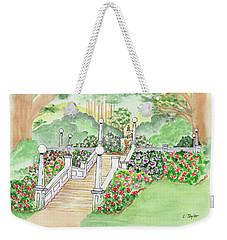 The Fountain Weekender Tote Bag