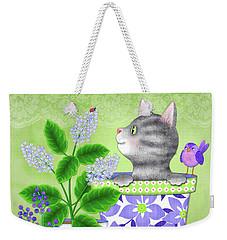 Cat Love Weekender Tote Bag