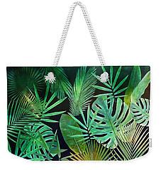 Exotique Leaves Weekender Tote Bag