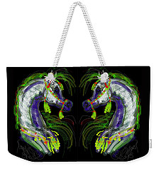 Arabian With Green Tassles Weekender Tote Bag