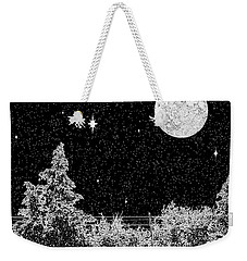 Winter's Night Weekender Tote Bag by Methune Hively