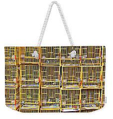 Cagey Weekender Tote Bag by Ethna Gillespie