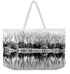 Rippled Reflection Weekender Tote Bag by Bill Kesler