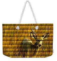 The Buck Poses Here Weekender Tote Bag