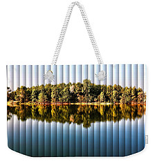 When Nature Reflects - The Slat Collection Weekender Tote Bag
