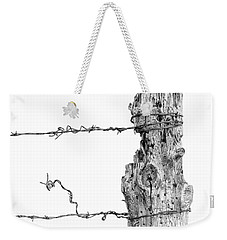 Post With Character Weekender Tote Bag
