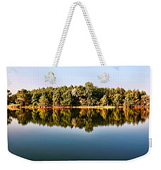 When Nature Reflects Weekender Tote Bag by Bill Kesler
