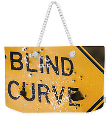 Blind Curve Weekender Tote Bag