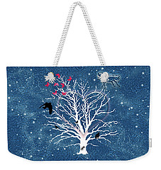 Dreamcatcher Tree Weekender Tote Bag by Methune Hively
