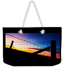 Hilltop Sunset Weekender Tote Bag