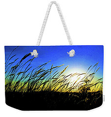 Weekender Tote Bag featuring the photograph Tall Grass by Bill Kesler