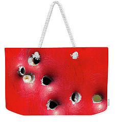 One Through The Back Weekender Tote Bag by Bill Kesler
