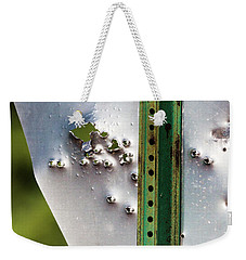 Bullet Hole Yield Weekender Tote Bag