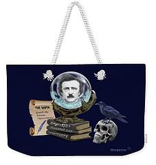 Spirit Of Edgar A. Poe Weekender Tote Bag by Glenn Holbrook