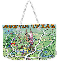 Austin Texas Weekender Tote Bag by Kevin Middleton