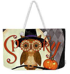 Spooky Owl Weekender Tote Bag