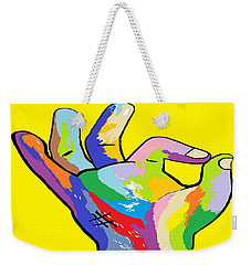 It's Ok Weekender Tote Bag by Eloise Schneider