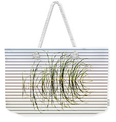 Graceful Grass - The Slat Collection Weekender Tote Bag