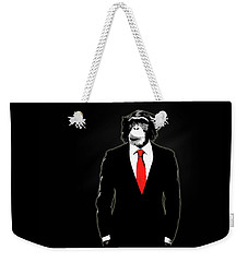 Domesticated Monkey Weekender Tote Bag