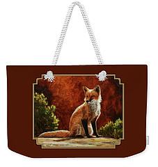 Sun Fox Weekender Tote Bag