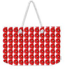 Beautiful Red Poppy Papaver Rhoeas Weekender Tote Bag by Marianne Campolongo