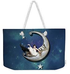 Paper Moon Weekender Tote Bag