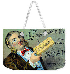 19th C. Lautz Brothers Soap Weekender Tote Bag by Historic Image