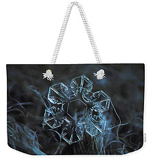 Snowflake Photo - The Core Weekender Tote Bag by Alexey Kljatov