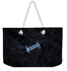 Snowflake Photo - Capped Column Weekender Tote Bag