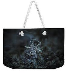 Snowflake Photo - Starlight Weekender Tote Bag