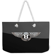 Bentley - 3d Badge On Black Weekender Tote Bag
