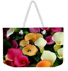 Arum Lilies Weekender Tote Bag