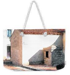 Arzachena Building Weekender Tote Bag