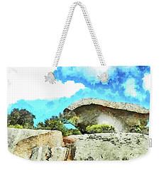 Arzachena Mushroom Rock Weekender Tote Bag