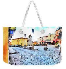 Arzachena Risorgimento Square Weekender Tote Bag