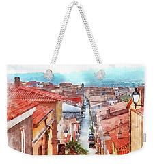 Arzachena View Of The Corso Garibaldi Weekender Tote Bag