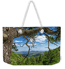 'as Far As The Eye Can See' Weekender Tote Bag by Charles Ables