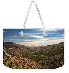 Weekender Tote Bag featuring the photograph As Far As The Eye Can See by Joe Kozlowski