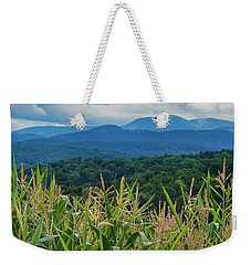 Weekender Tote Bag featuring the photograph As High As An Elephants Eye by Kendall McKernon
