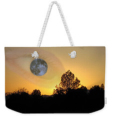 Weekender Tote Bag featuring the photograph As I See It by Joyce Dickens