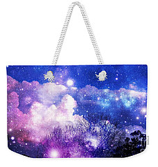 As It Is In Heaven Weekender Tote Bag by Leanne Seymour