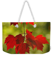 As Red As They Can Be Weekender Tote Bag by Aimelle