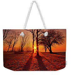Weekender Tote Bag featuring the photograph As Sure As The Sun Will Rise by Phil Koch