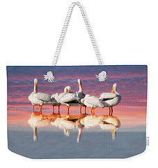 As The Sun Goes Down Weekender Tote Bag
