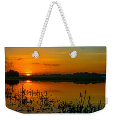 As The Flood Water Swallers Weekender Tote Bag