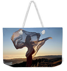As The Wind Carries The Flower Of A New Life Weekender Tote Bag