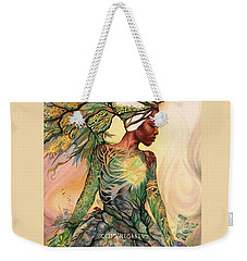 Asase Yaa Weekender Tote Bag