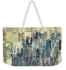 Weekender Tote Bag featuring the painting Ascension - C03xt-159at2b by Variance Collections