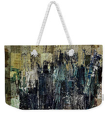 Weekender Tote Bag featuring the painting Ascension - C03xt-159at2c by Variance Collections