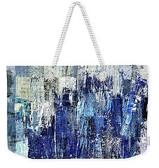 Weekender Tote Bag featuring the digital art Ascension - C03xt-160at2c by Variance Collections